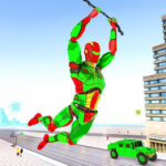 Army Robot Rope hero – Army robot games (Mod) 2.1
