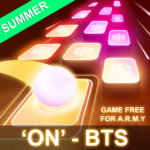BTS Hop: KPOP IDOL Rush Dancing Tiles Game 2019! (Mod) 1.0.0.2