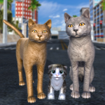 Cat Family Simulator: Stray Cute Kitty Game (Mod) 2.2