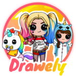 Drawely – How To Draw Cute Girls and Coloring Book (Mod) 66.0