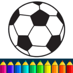 Football coloring book game (Mod) 13.4.4