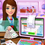 High School Cash Register: Cashier Games For Girls (Mod)  2.0.8