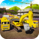House Building Simulator: try construction trucks! (Mod) 1.2