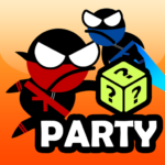 Jumping Ninja Party 2 Player Games (Mod) 4.1