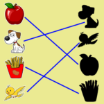 Match The Picture Shadow, kids matching game (Mod) 2.1