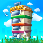 Pocket Tower: Building Game & Megapolis Kings (Mod) 3.10.7