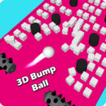 3D Bump Ball: Push The Hurdle Ball Moving Game (Mod) 1.4.1