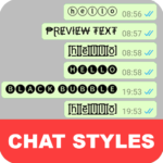 Chat Styles: Cool Font & Stylish Text for WhatsApp (Mod) 6.3