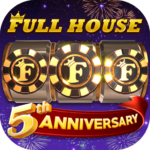 Full House Casino – Free Vegas Slots Casino Games (Mod)   1.3.0