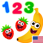 Funny Food 123! Kids Number Games for Toddlers (Mod)  2.3.0.18