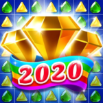 Jewel & Gems Mania 2020 – Match In Temple & Jungle (Mod) 8.7.2