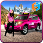 New York Taxi Duty Driver: Pink Taxi Games 2018 (Mod) 5.0