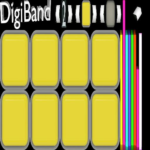 OCTAPAD-PRO||DIGIBAND|ELECTRO DRUMPADS|FINGERDRUMS (Mod) 1.08