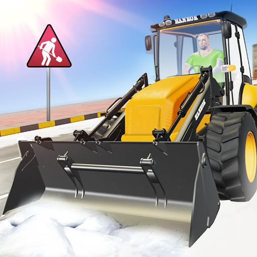 Real Heavy Snow Plow Truck Excavator Machine Games (Mod) 1.4