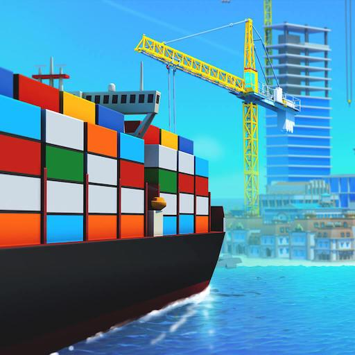 Sea Port: Build Town & Ship Cargo in Strategy Sim (Mod) 1.0.113