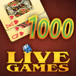 Thousand LiveGames – free online card game 1000 (Mod) 4.01