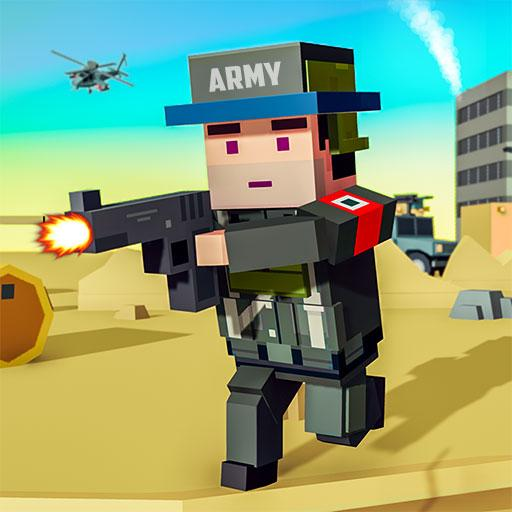 Blocky Army Base:Modern War Critical Action Strike (Mod) 1.7
