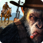 Apes Age Vs Wild West Cowboy: Survival Game (Mod) 1.4.0