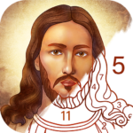 Bible Coloring – Paint by Number, Free Bible Games (Mod) 2.1.9