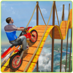 Bike Tricks Trail Stunt Master -Impossible Tracks (Mod) v9