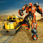 Futuristic Train Real Robot Transformation Game (Mod) 1.3.0
