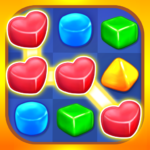 Gummy Paradise – Free Match 3 Puzzle Game (Mod) 1.4.6