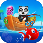 Happy Fisher Panda: Ultimate Fishing Mania Games (Mod) 2.5