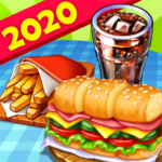 Hell's Cooking: crazy burger, kitchen fever tycoon (Mod) 1.36