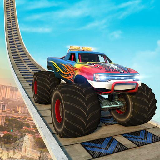 Monster Truck Mega Ramp Stunts Extreme Stunt Games (Mod) 1.13