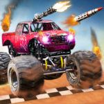Monster Truck Shooting Race 2020: 3D Racing Games (Mod) 3.4