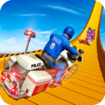 Police Bike Mega Ramp Impossible Bike Stunt Games (Mod) 1.9