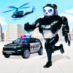 Police Panda Robot Transformation: Robot Shooting (Mod) 1.0.5
