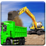 Sand Excavator Truck Driving Rescue Simulator game (Mod) 4.5
