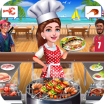 Super Chef Beach Bbq Kitchen Story Cooking Games (Mod) 1.0.8