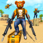 Teddy Bear Gun Strike Game: Counter Shooting Games (Mod) 1.3