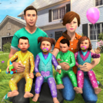 Virtual Mother Baby Quadruplets Family Simulator (Mod) 1.0.7