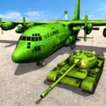 Army Tank Transport Plane Sim : Army Transporter (Mod) 1.7