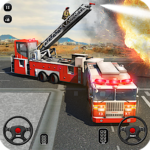 Fire Truck Driving School: 911 Emergency Response (Mod) 1.6