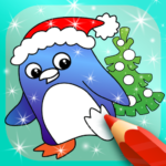 Happy Kids Animated Christmas Coloring Book (Mod) 2.2