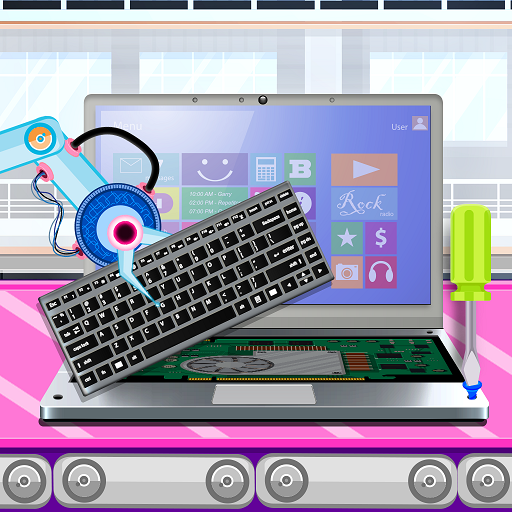 Laptop Factory: Computer Builder & Maker Games (Mod) 1.7