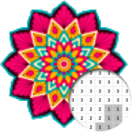 Mandala Color By Number – Pixel Art (Mod) 4.0