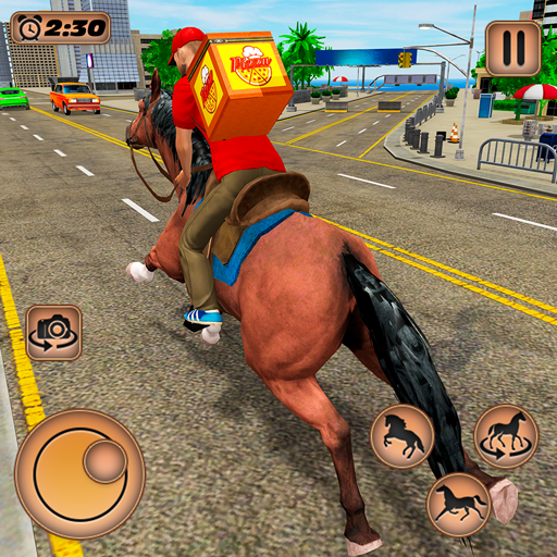 Mounted Horse Riding Pizza Guy: Food Delivery Game (Mod) 1.0.2
