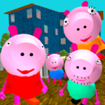 Piggy Neighbor. Family Escape Obby House 3D (Mod) 1.8