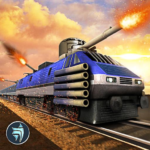 Police Train Shooter Gunship Attack : Train Games (Mod) 2.1