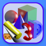 Simple 3D Shapes Objects Games: Geometry shape (Mod) 1.10