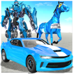 US Police Horse Robot Transformation: Robot Car 3D (Mod) 1.0.4