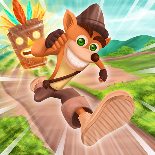 Adventure Fox Bandi: Nsane 3D Run Trilogy (Mod) 1