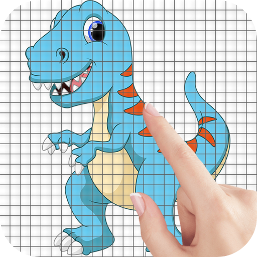Cartoon Dinosaurs Color by Number – Pixel Art Game (Mod) 1.1