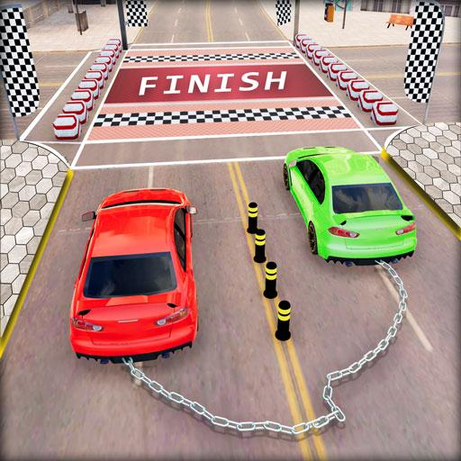 Chained Car Racing 2020: Chained Cars Stunts Games (Mod) 1.4