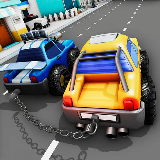 Chained Cars Impossible Stunts 3D – Car Games 2020 (Mod) 2.9.1